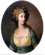 Portrait of Dorothea von Medem (1761-1821), Duchess of Courland Joseph Friedrich August Darbes