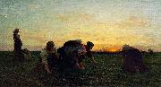 The Weeders, oil on canvas painting by Metropolitan Museum of Art Jules Breton
