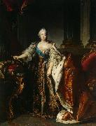 Portrait of Empress Elizabeth Petrovna Louis Tocque