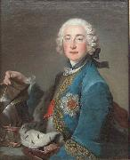 Portrait of Frederick Michael of Zweibrucken Louis Tocque