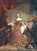 Queen of France Louis Tocque