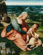 Madonna and Child with the Lamb Quentin Matsys