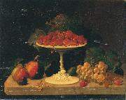 Still life with Strawberries Severin Roesen