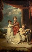 Children of Sir Samuel Fludyer Sir Thomas Lawrence