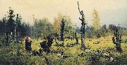 The Burnt Forest Vasiliy Polenov
