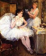 The Ballet Dancers aka The Dressing Room Willard Leroy Metcalf