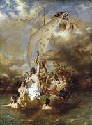 Youth on the Prow and Pleasure at the Helm William Etty