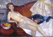 Nude with Apple William Glackens