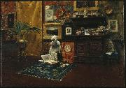 Studio Interior William Merrit Chase