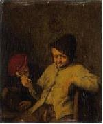 The Smoker and the Drunkard. Adriaen van ostade