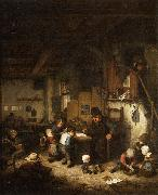 The School Master Adriaen van ostade