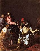 Template:The Raising of Lazarus Alessandro Turchi