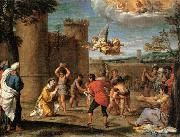 The Stoning of St Stephen Annibale Carracci