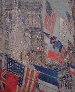 Allies Day, May 1917 Childe Hassam