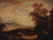 Gebirgslandschaft Christian Georg Schutz the Elder
