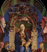 Madonna with the Child Enthroned Cosme Tura
