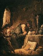 The Temptation of St Anthony David Teniers the Younger