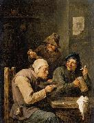 The Hustle-Cap David Teniers the Younger
