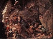 Temptation of St Anthony David Teniers the Younger