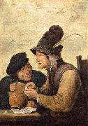 Two Drunkards David Teniers the Younger