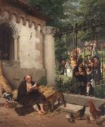 Lazarus and the Rich Man Eduard von Gebhardt