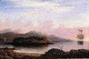 Off Mount Desert Island Fitz Hugh Lane