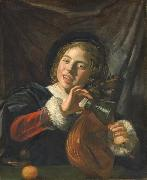 Boy with a Lute Frans Hals