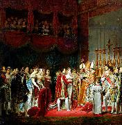 Marriage of Napoleon I and Marie Louise. 2 April 1810. Georges Rouget