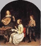 The Concert Gerard ter Borch the Younger