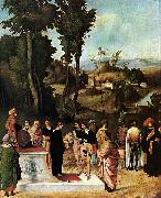 Moses Undergoing Trial by Fire Giorgione
