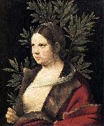Portrait of a Young Woman Giorgione