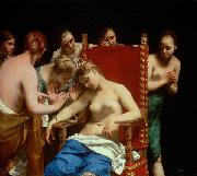Death of Cleopatra Guido Cagnacci
