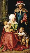 Mary Salome and Zebedee with their Sons James the Greater and John the Evangelist Hans von Kulmbach