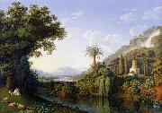 Landscape with Motifs of the English Garden in Caserta Jacob Philipp Hackert