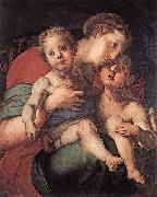 Madonna and Child with the Young St John Jacopo Pontormo