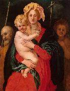 Madonna and Child with Jacopo Pontormo