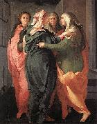 Visitation Jacopo Pontormo