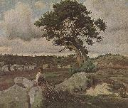 Wald von Fontainebleau camille corot