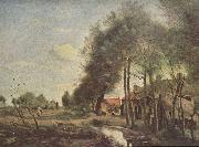 Strabe in Sin-Le-Noble camille corot