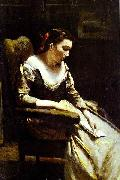The Letter camille corot