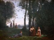 Le concert champetre camille corot