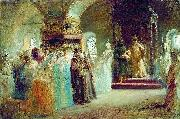 The Bride-show of tsar Alexey Michailovich Konstantin Makovsky