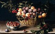 Still-Life with a Basket of Fruit Louise Moillon