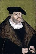 Portrait of Elector Frederick the Wise in his Old Age Lucas Cranach the Elder
