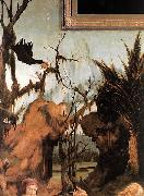 Sts Paul and Anthony in the Desert Matthias Grunewald