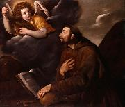 Saint Francis and the Angel Pasquale Ottino