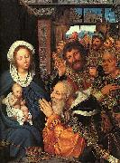 The Adoration of the Magi Quentin Matsys