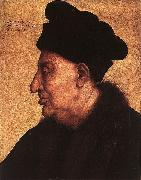 Portrait of an Old Man Quentin Matsys
