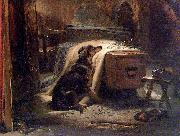 The Old Shepherd's Chief Mourner Sir Edwin Landseer