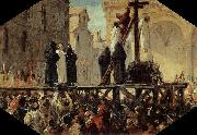 The Execution of Savonarola Stefano Ussi